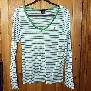 Ralph Lauren Long Sleeve V-neck